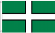 5ft x 3ft Fabric Devon County Flag of Devon Flags for Sale - West Country Seller